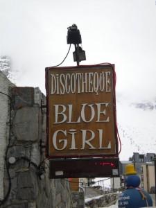 discothèque sur la station de ski de tignes : le blue girl